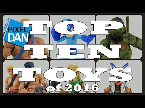 Pixel Dan's Top Ten Toys of 2016! featuring TMNT, He-Man, Star Wars, and more!