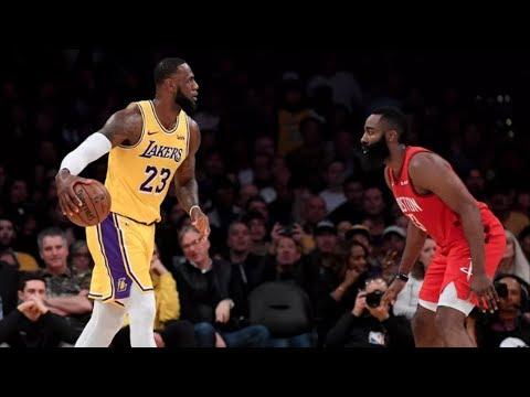Harden Fouls Out! Lakers Comeback Down 19! 2018-19 NBA Season