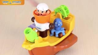 Игрушка для ванной «Пиратский корабль» TOMY