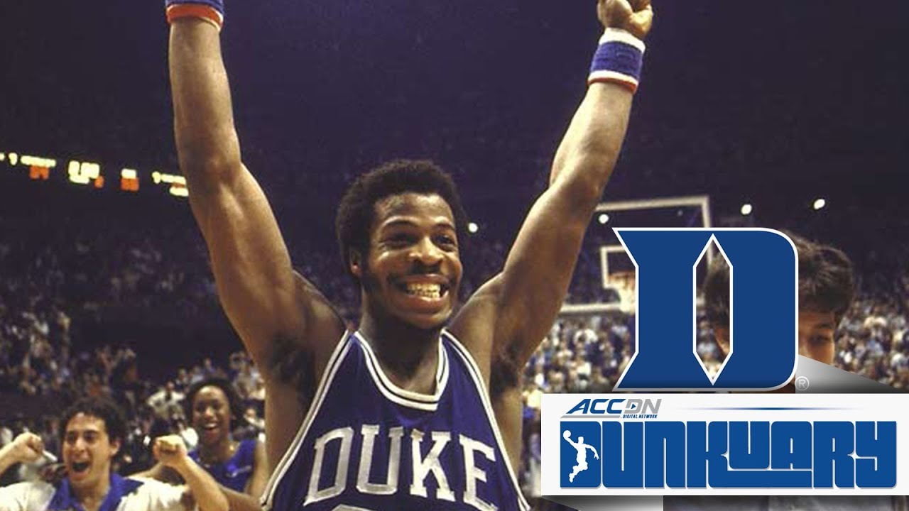 Duke s Gene Banks Throws Down on Ralph Sampson