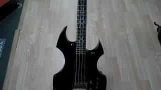 esp ltd ax 404 bass midwest music center norfolk ne