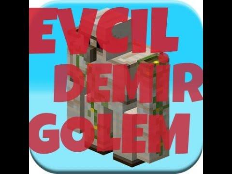 Minecraft PE Evcil Demir Golem