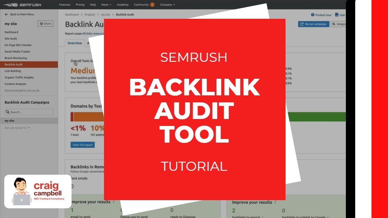 The Of Semrush Backlink Audit