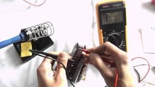 Сетевые трансформаторы: проверка, снятие параметров(Как проверить работоспособность сетевого трансформатора? Как снять параметры неизвестного для Вас трансф..., 2014-03-12T10:04:48.000Z)