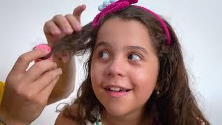 SARAH abrindo as NOVAS LOL Surprise HAIR GOALS E HAIR VIBES