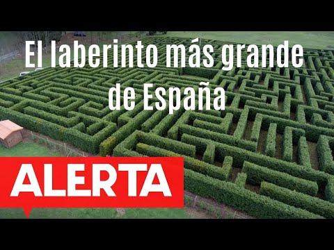 El laberinto más grande de España está en Cantabria