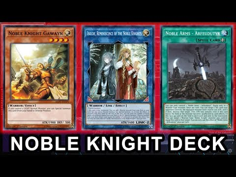 Download Noble Knight February 2019 Tcg Yu Gi Oh Deck Profile