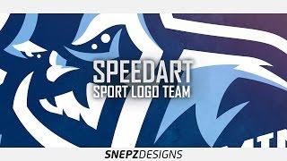 E-sport logo- Iwku gaming (Photoshop CS6)