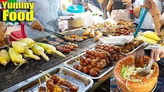 Popular Street Food Record On Christmas Day, Asian Street Food Compilation