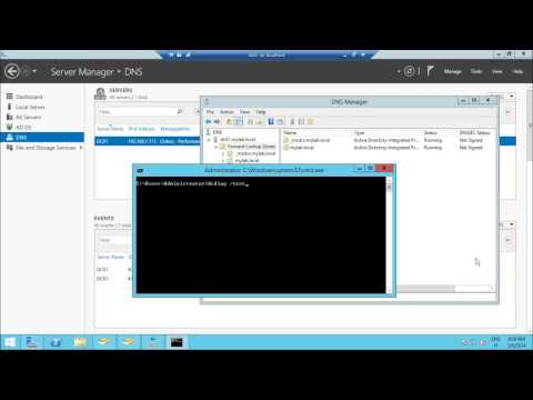 DcDiag a quick health check on Windows Server 2012r2 Domain Controller
