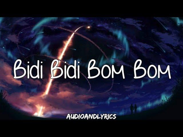 Selena Bidi Bidi Bom Bom Lyrics Youtube