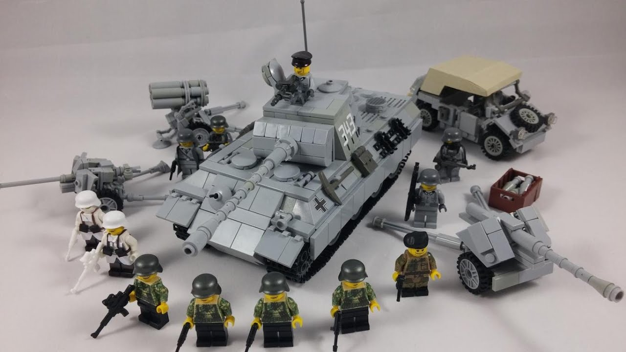 Lego Ww2 Vehicles And Figures Addition Moc Hd Youtube