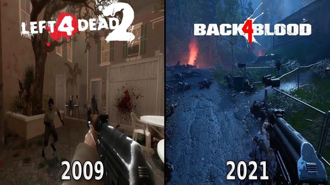 Back 4 Blood vs Left 4 Dead | Direct Comparison [PC]
