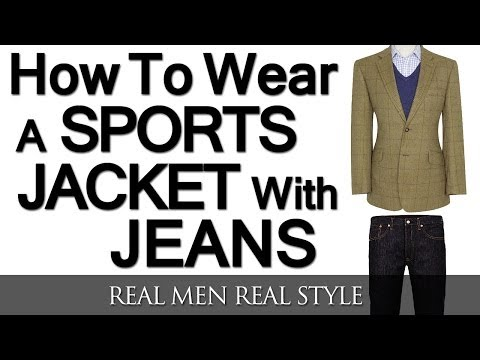 How To Wear A Sports Jacket With Jeans   Mixing Denim And A Sport Coat   Matching Sports Jackets