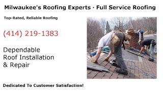 Roofing Company Milwaukee (414) 219-1383