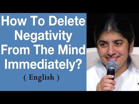 How To Delete Negativity From The Mind Immediately? BK Shivani At Brisbane, Australia (English)