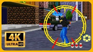Virtua Cop 2 Old Game In 4k 60fps Childhood Memories No Commentary Youtube