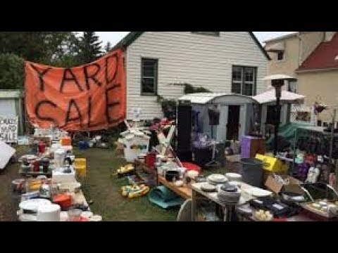 yard sale finds, sept 23 2017 - YouTube