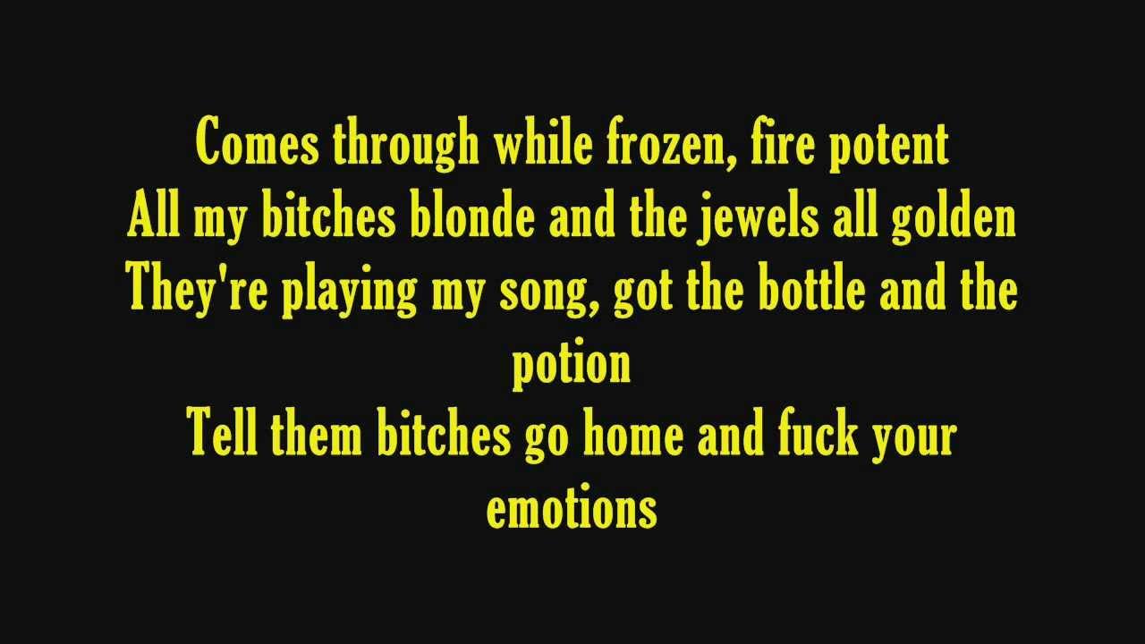 fuck on cocain lyrics