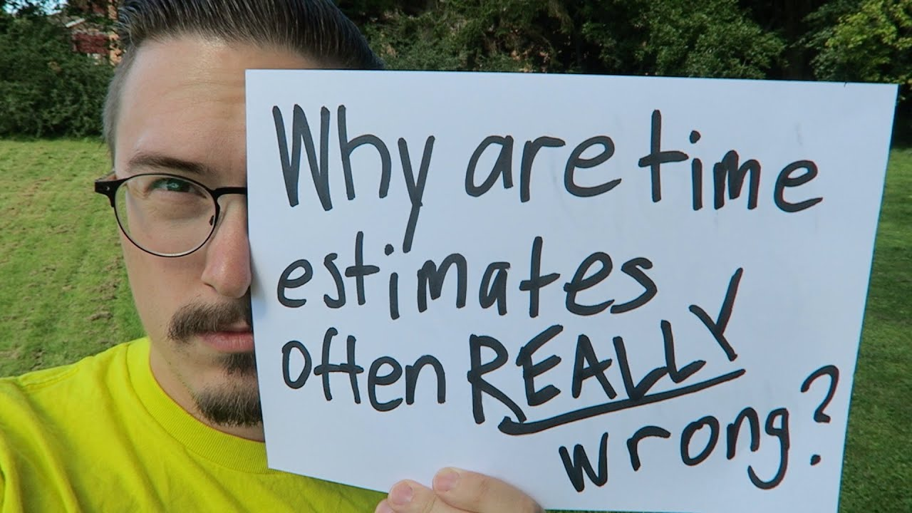 Why are time estimates often REALLY wrong? - MPJ's Musings -  FunFunFunction #45