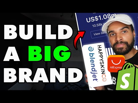 How to go from dropshipping to a BIG BRAND in 2020 thumbnail