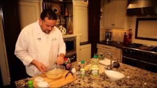 How To Make Autumn Apple Salad With Creamy Maple Dressing Presented By Crisco Cooking Oils