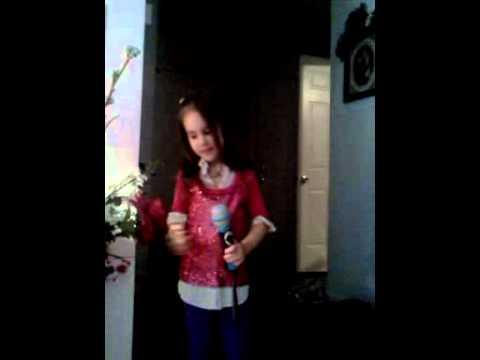 Reece singing rock star
