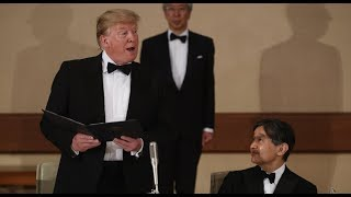 Golden State Times - POTUS IN JAPAN: President Trump AMAZING Speech after Meeting the New Emperor of