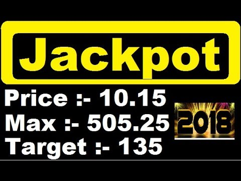 Download Super Jackpot - 2018 || Penny stock below 11 rupees,multibagger penny stock || best stock for 2018