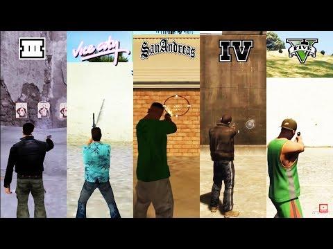 SBS Comparison Of WEAPONS In GTA Games! (GTA 3 Vs VC Vs SA Vs IV Vs V)