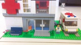 Como Construir um Hospital de Lego