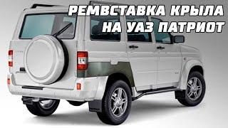 Ремкомплект заднего крыла УАЗ Патриот