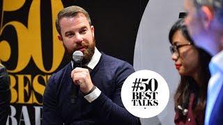 Philip Bischoff from Manhattan bar Singapore at #50BestTalks