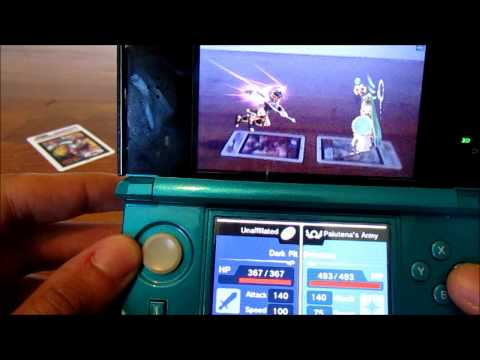 Let's Play Kid Icarus Uprising - AR Cards Gameplay