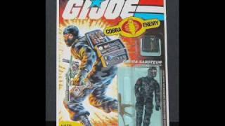 GI Joe Classic Carded Figures (1982 - 1987) MOC!