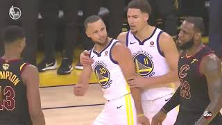 Curry, LeBron HEATED Trash Talk! Game 1 Cavaliers vs Warriors 2018 NBA FINALS