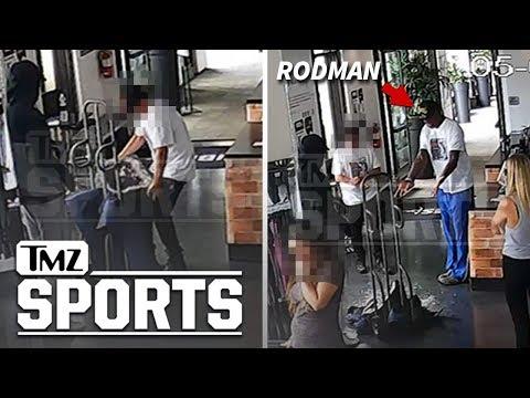 Dennis Rodman Accused of Clothing Heist Captured On Video | TMZ Sports