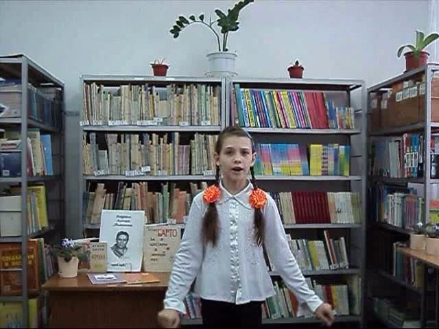 Изображение предпросмотра прочтения – ЕлизаветаВайберт читает произведение «В театре» А.Л.Барто