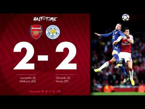 Arsenal vs Leicester City 4-3 Half Time Analysis David Moyes & Chris Coleman