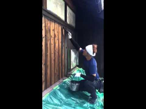 COAT!! 外壁塗装 木部 仕上げ
