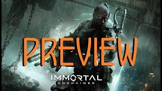 Immortal Unchained Gameplay - Preview - Sci-Fi Dark Souls Game