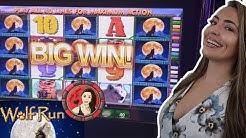 Wolf Run Slot Machine Wins FEATURING. Grand Jackpot on Eureka Blast!