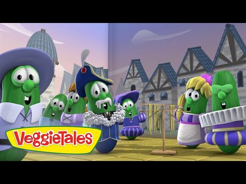 Veggie Tales | Kilts and Stilts | Veggie Tales Silly Songs With Larry | Kids Cartoon thumbnail