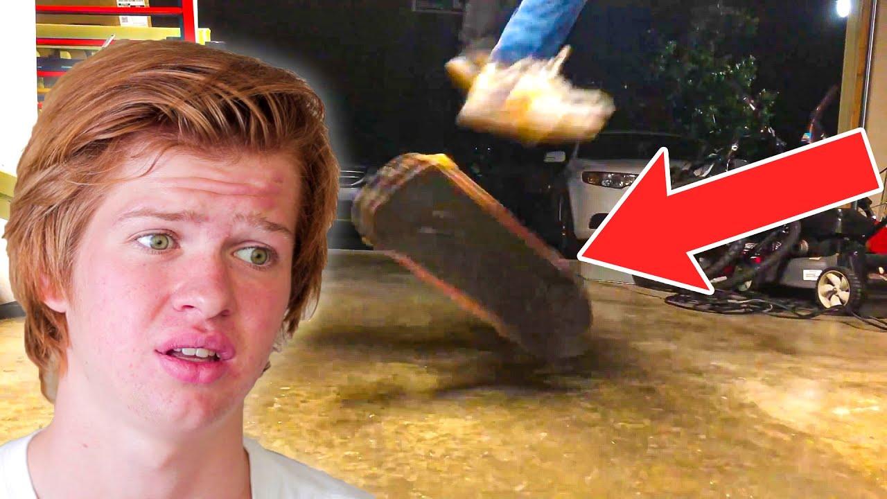 INSANE 1 Year Skateboarding PROGRESSION Reaction!