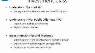 Equity Sense - Investing Class