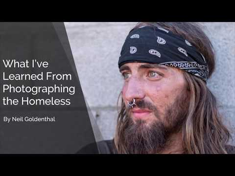What I've Learned From Photographing the Homeless | Neil Goldenthal