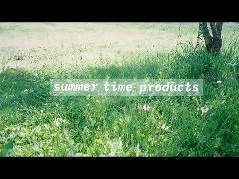 summer time products∥持ち物|メイク|お洋服