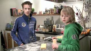 Kidzkitchen The Netherlands - Almond Bars