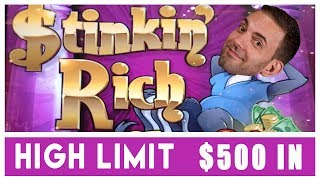 💰$500 in @ HIGH LIMIT👃🤑Stinkin' RICH Slots & 🎡Spin It Grand🍸Cosmo LAS VEGAS ✦ BCSlots