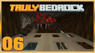 Truly Bedrock S0 EP6 : Spider Farming! [ Minecraft, MCPE, Bedrock Edition,Windows 10 ]